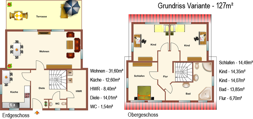 Hogaf Hausbau Gmbh Pultdach